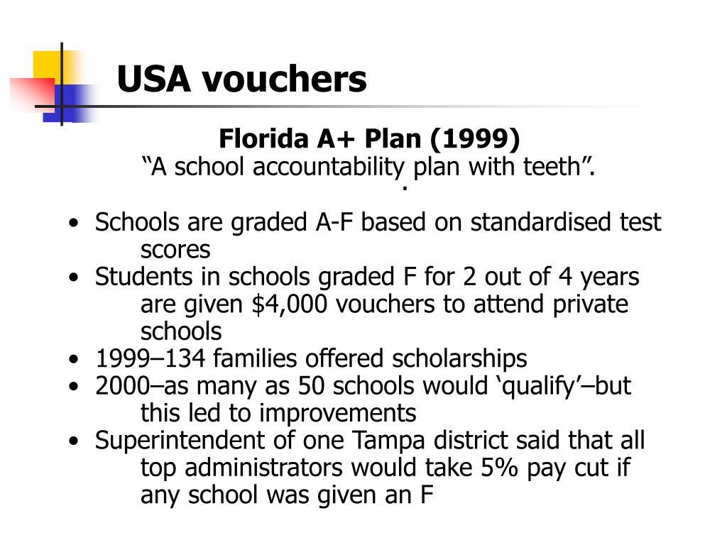 USA vouchers