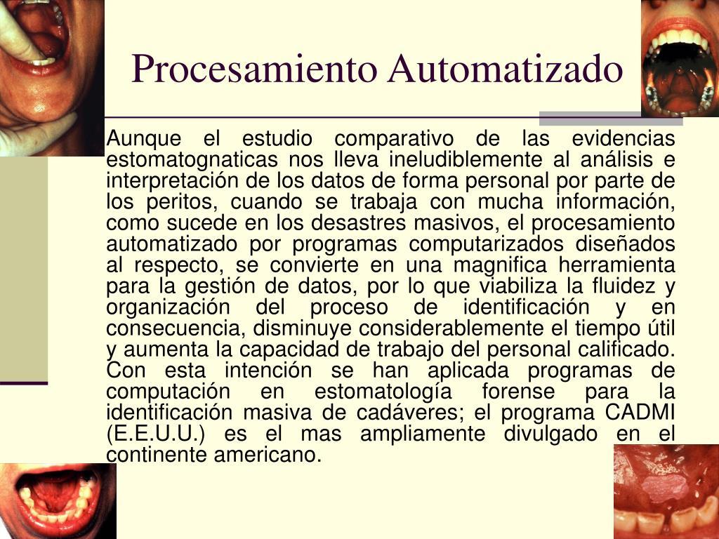 Procesamiento Automatizado