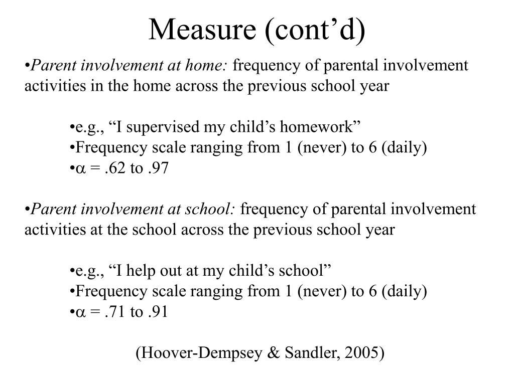 Measure (cont'd)