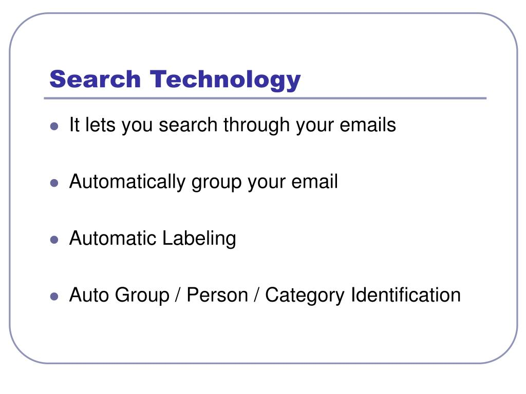 Search Technology