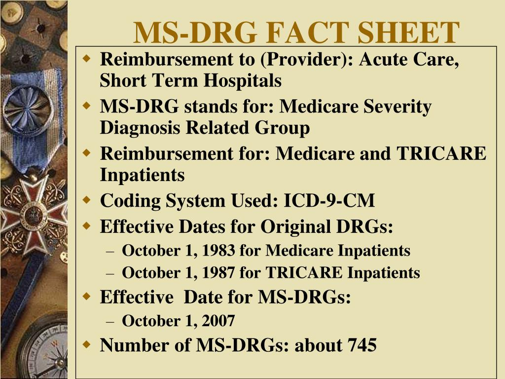 ms drgs Number 2 2007 provider payments and cost-containment lessons from oecd countries historically the oecd countries have struggled to curb their public spending on health care.