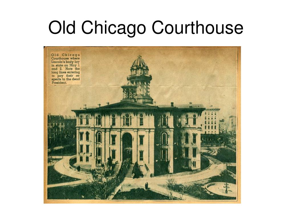 Old Chicago Courthouse