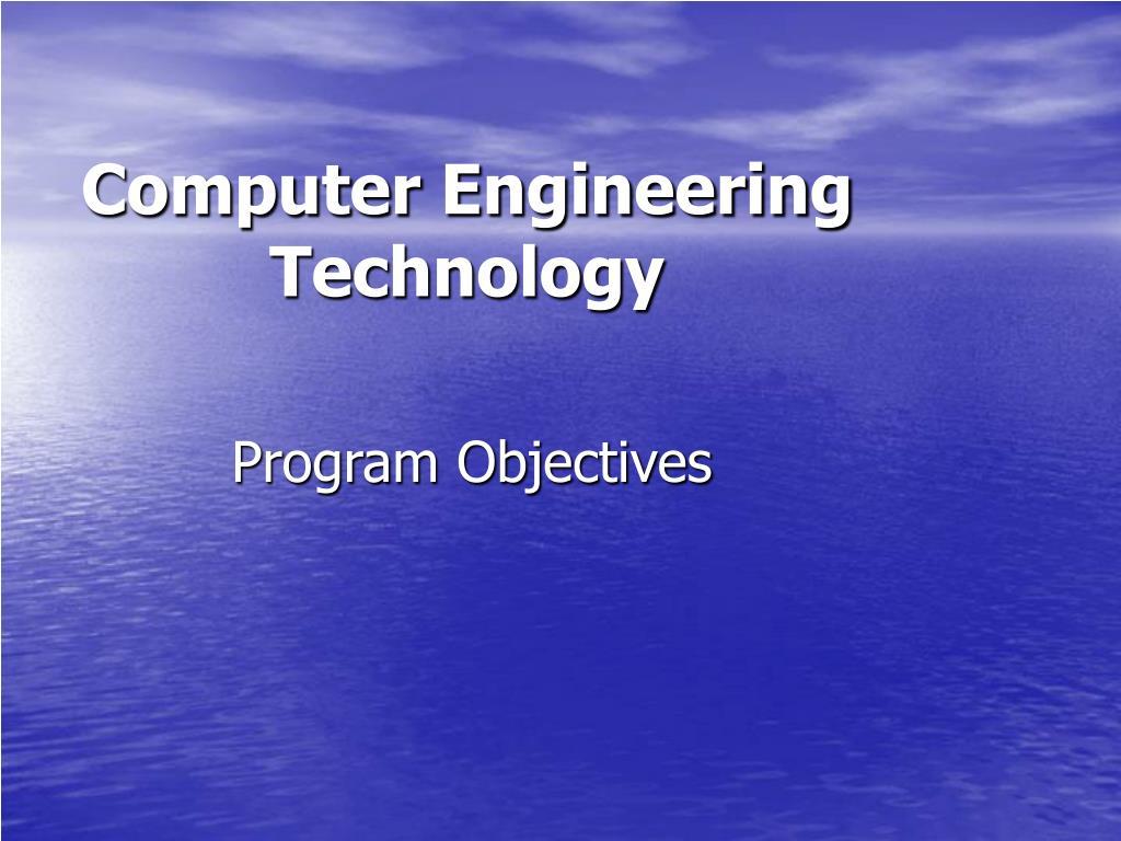 Computer Engineering Technology