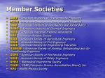 member societies