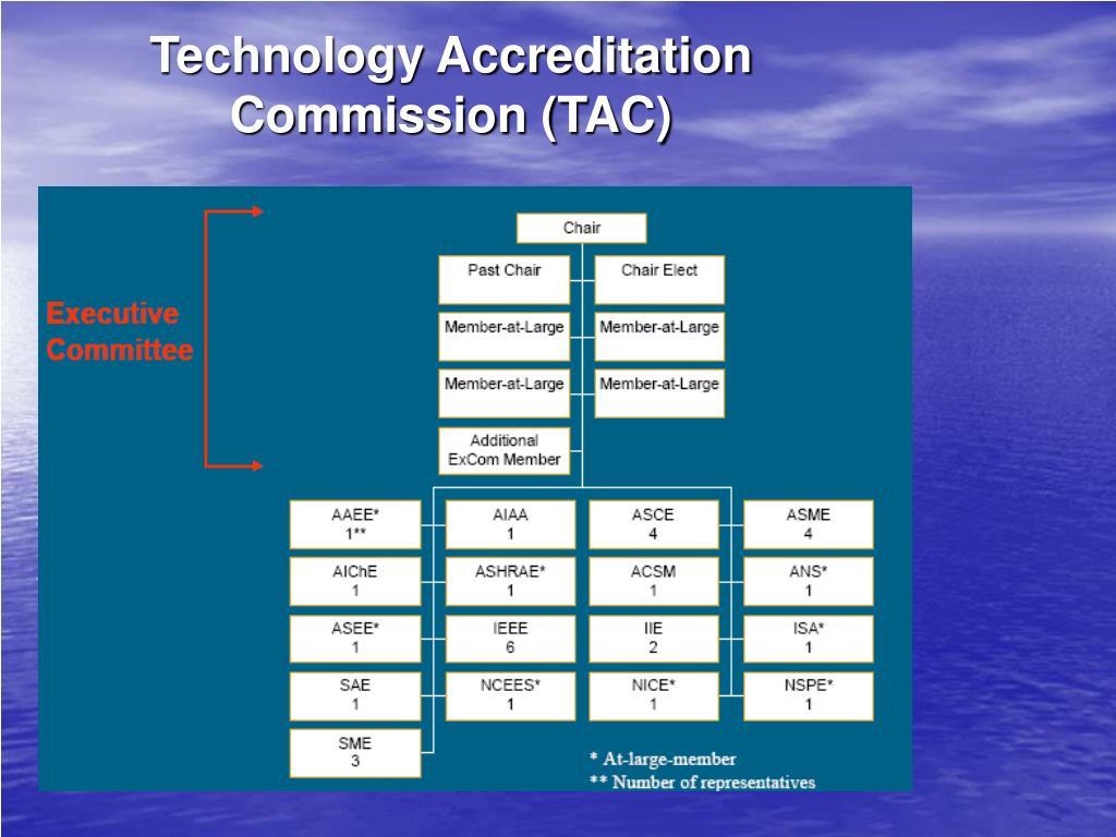 Technology Accreditation Commission (TAC)