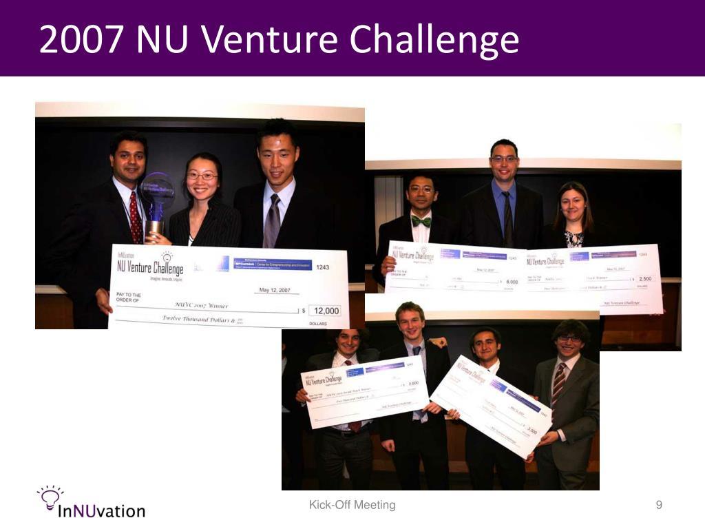 2007 NU Venture Challenge