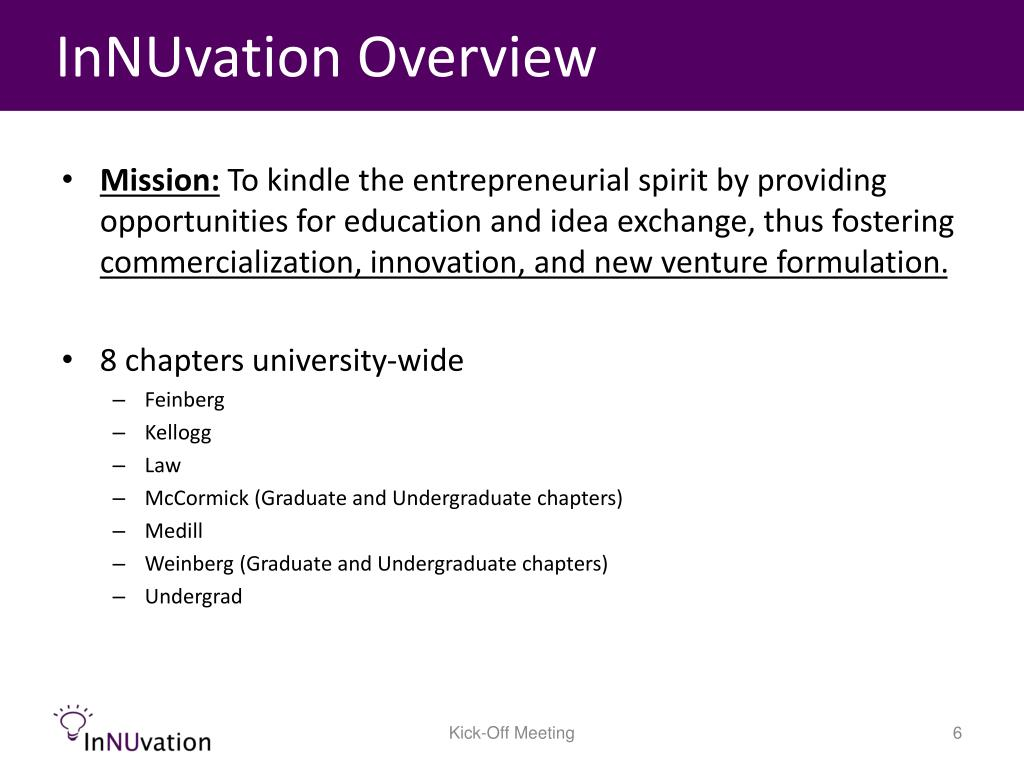 InNUvation Overview