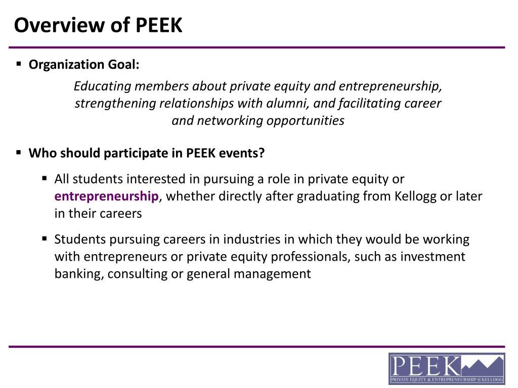 Overview of PEEK
