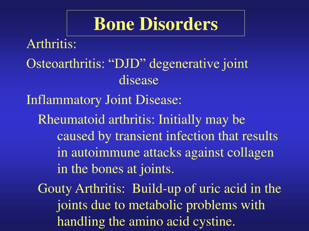 Bone Disorders