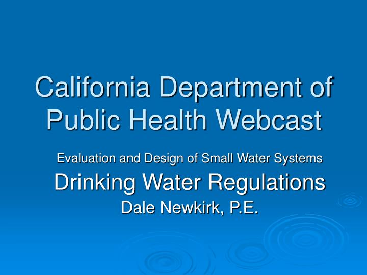 California department of public health webcast l.jpg