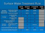 surface water treatment rule27