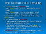 total coliform rule sampling39