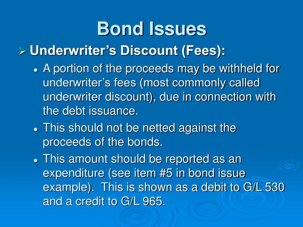 Bond Issues
