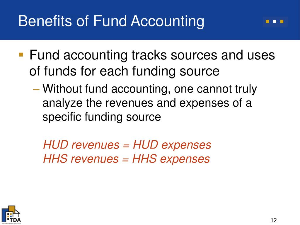 Benefits of Fund Accounting