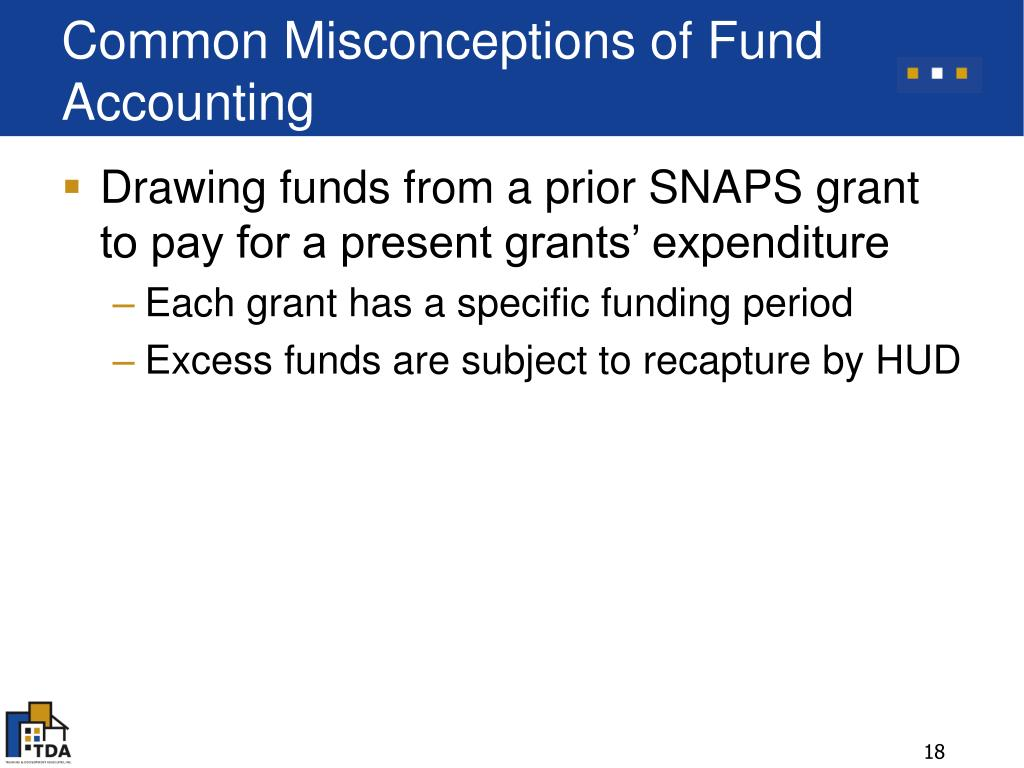 Common Misconceptions of Fund Accounting