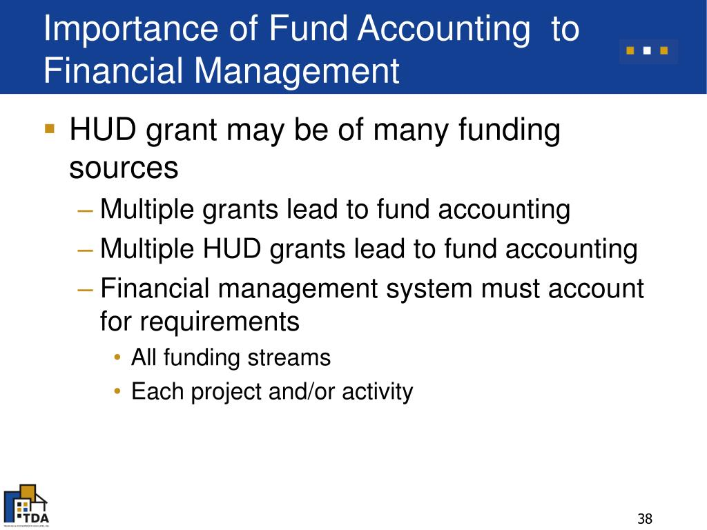 Importance of Fund Accounting  to