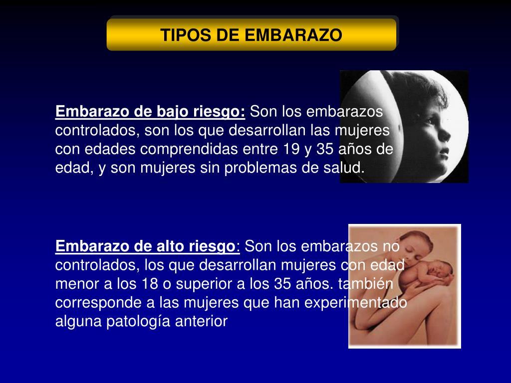 TIPOS DE EMBARAZO
