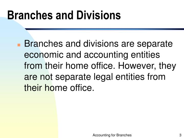 Branches and divisions l.jpg
