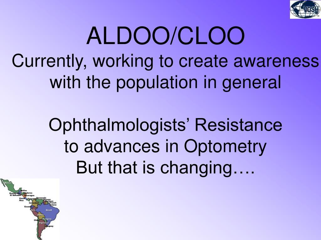ALDOO/CLOO