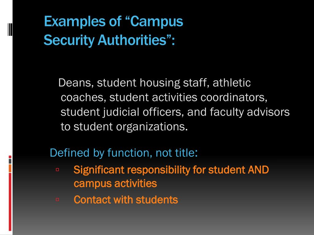 "Examples of ""Campus"