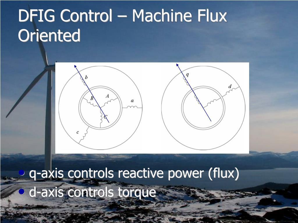 DFIG Control – Machine Flux Oriented
