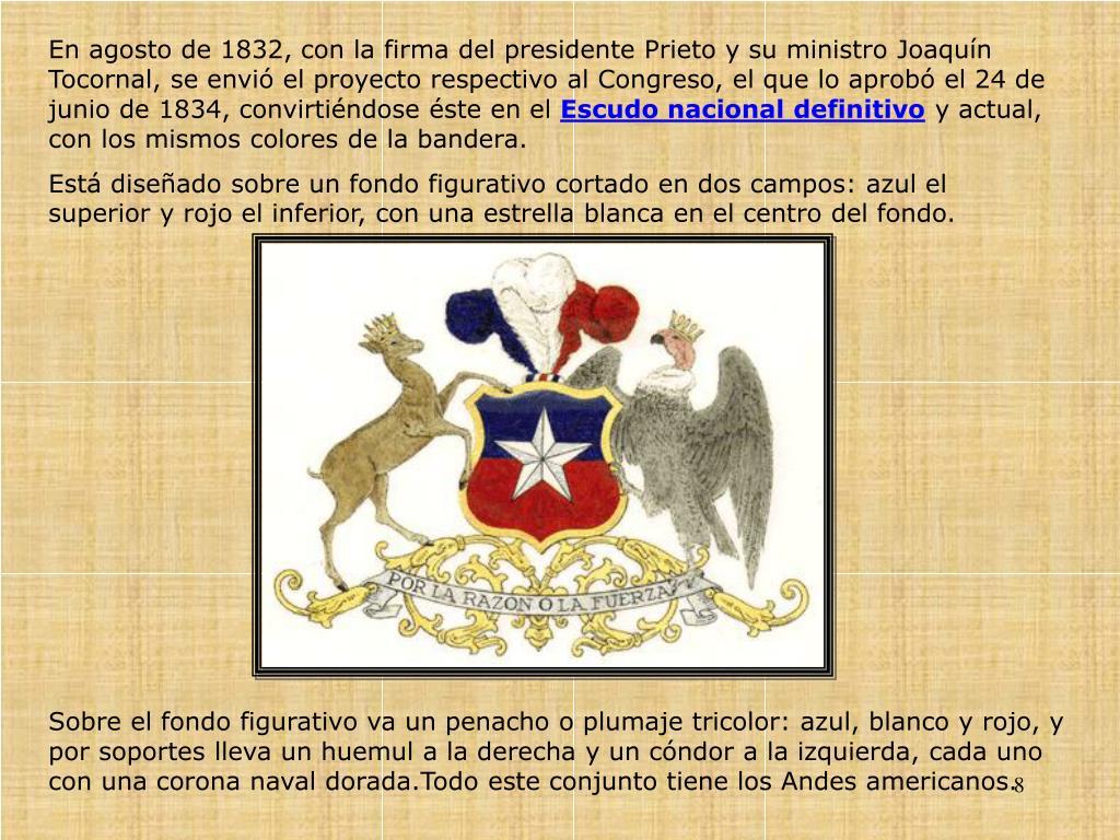 En agosto de 1832, con la firma del presidente Prieto y su ministro Joaquín Tocornal, se envió el proyecto respectivo al Congreso, el que lo aprobó el 24 de junio de 1834, convirtiéndose éste en el