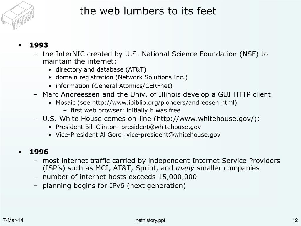 the web lumbers to its feet