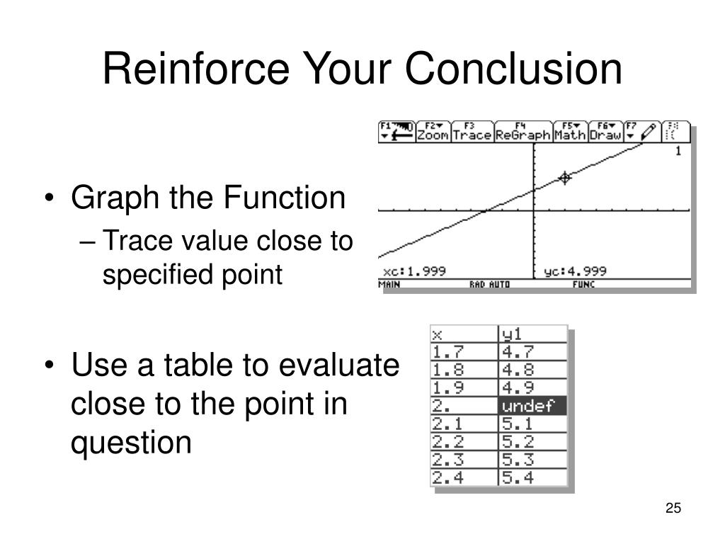 Reinforce Your Conclusion