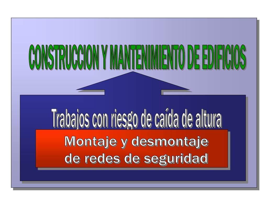 CONSTRUCCION Y MANTENIMIENTO DE EDIFICIOS
