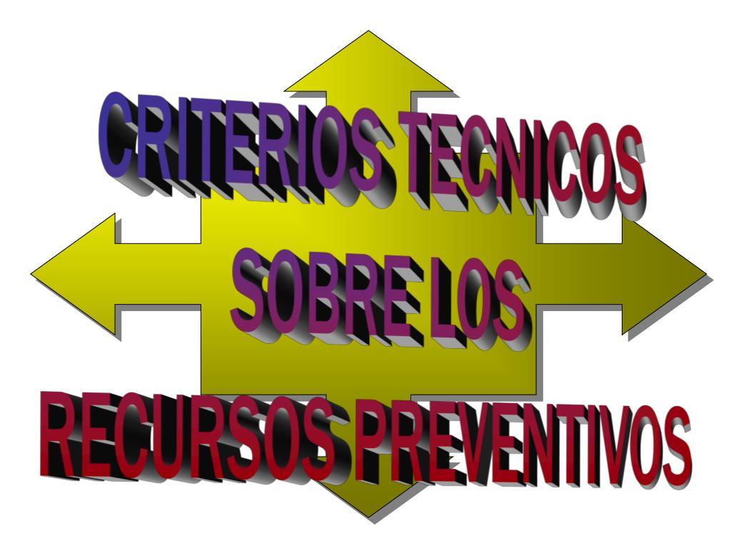 CRITERIOS TECNICOS