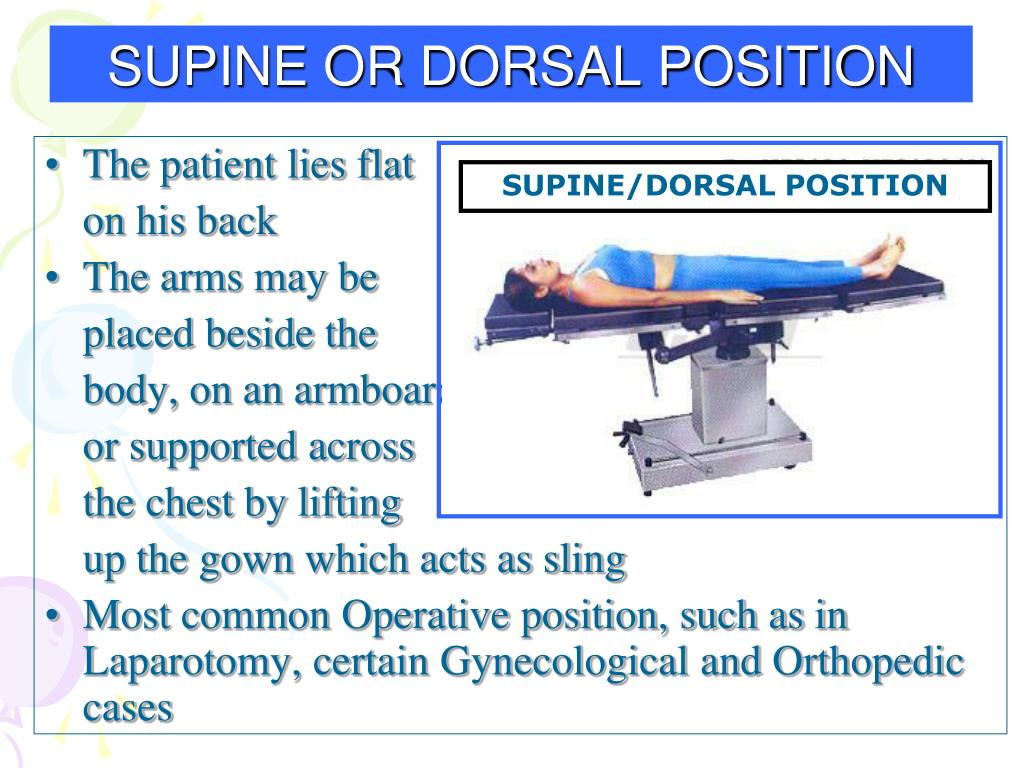 PPT - POSITIONING IN OPERATING THEATRE PowerPoint ...
