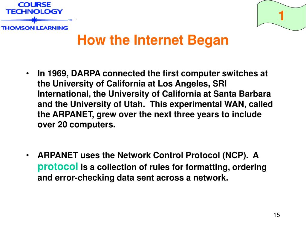 How the Internet Began