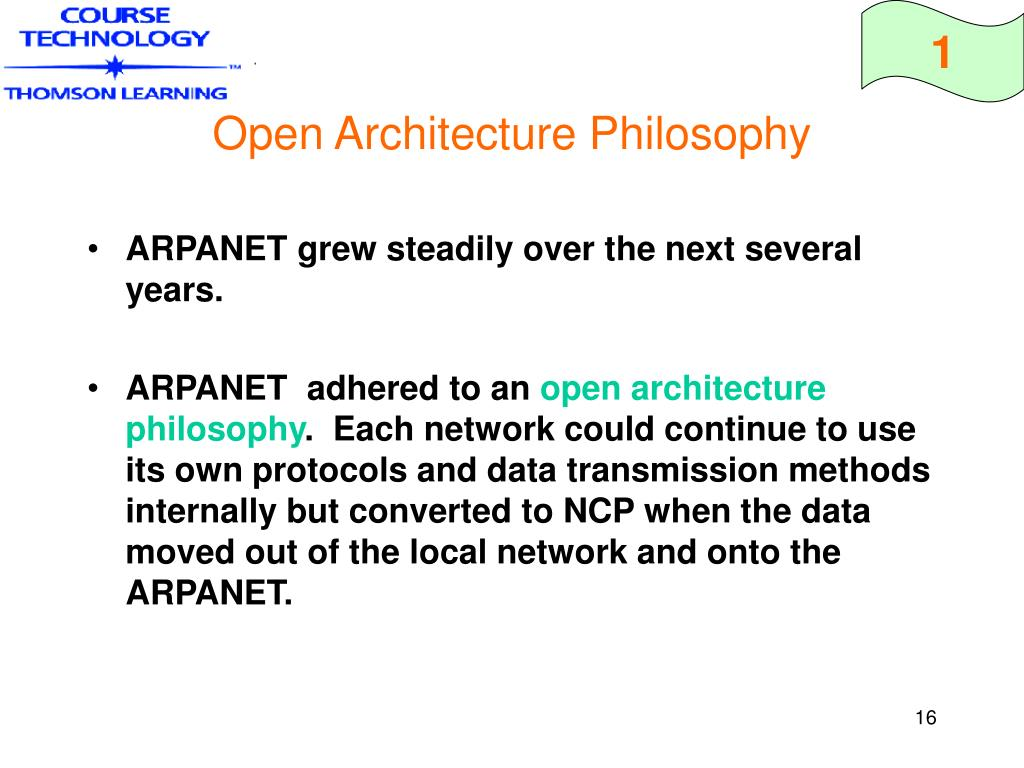 Open Architecture Philosophy