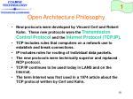 open architecture philosophy18