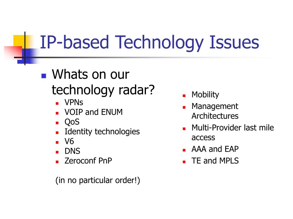 Whats on our technology radar?