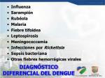 diagn stico diferencial del dengue
