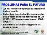 problemas para el futuro