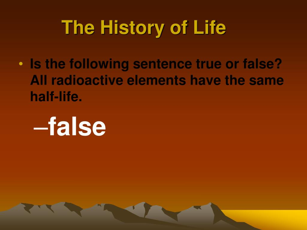 Radioactive Dating False