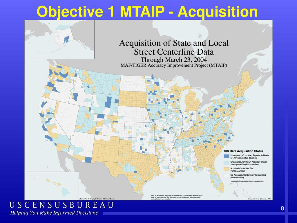 Objective 1 MTAIP - Acquisition