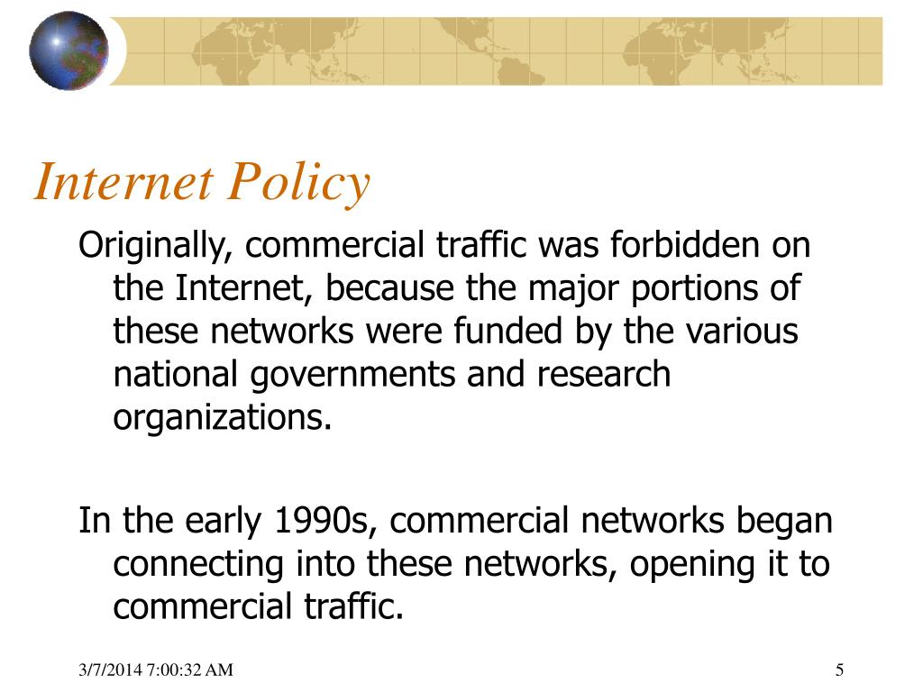 Internet Policy
