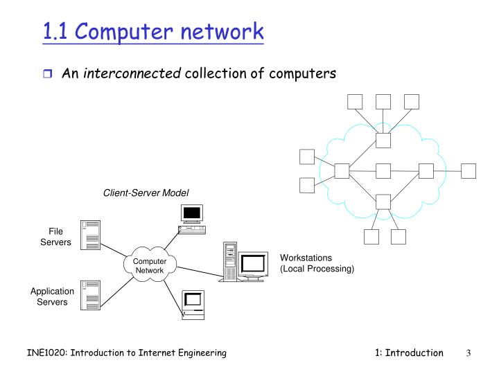 1 1 computer network
