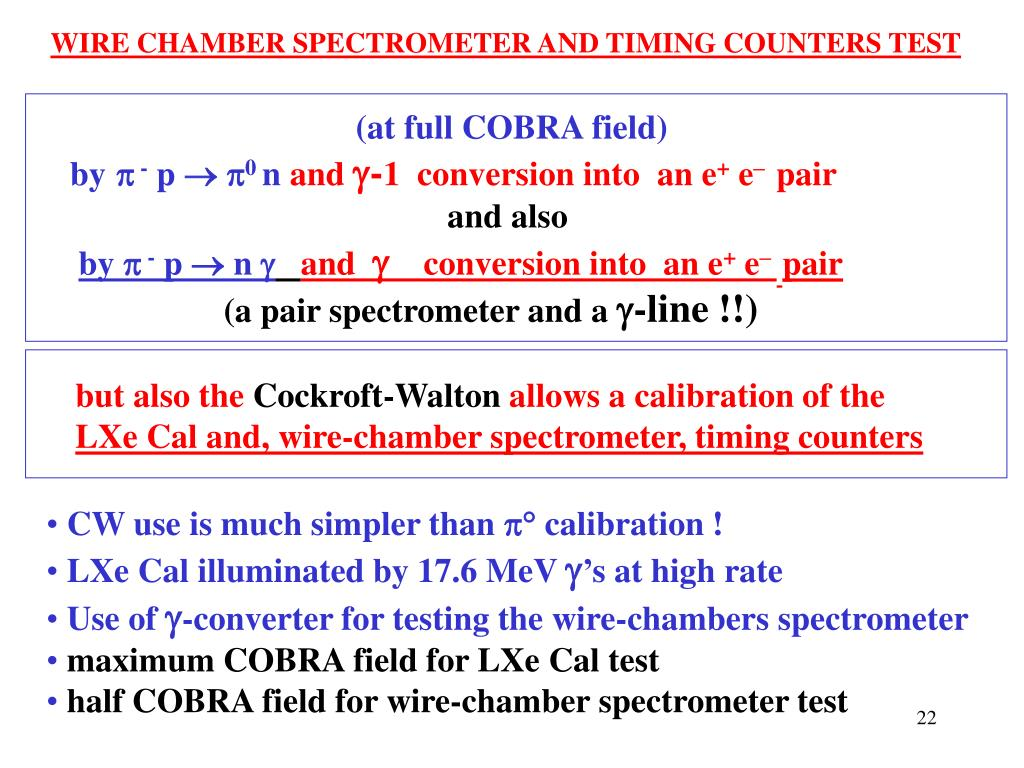 WIRE CHAMBER SPECTROMETER AND TIMING COUNTERS TEST