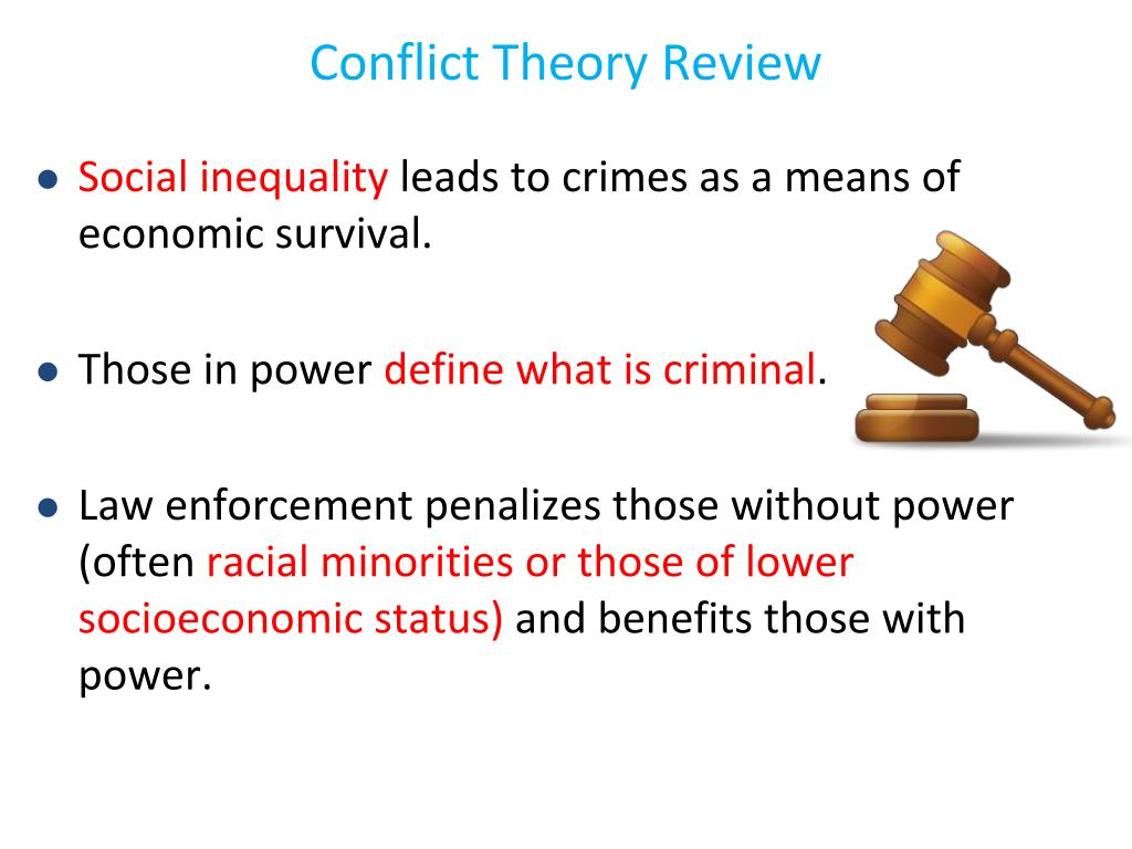 Conflict Theory Review