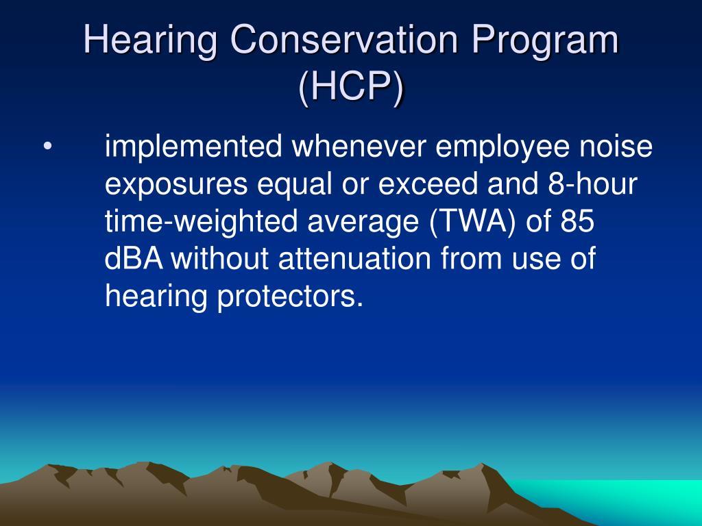 ppt - osha occupational noise powerpoint presentation