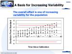 a basis for increasing variability22