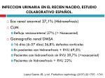 infeccion urinaria en el recien nacido estudio colaborativo espa ol11
