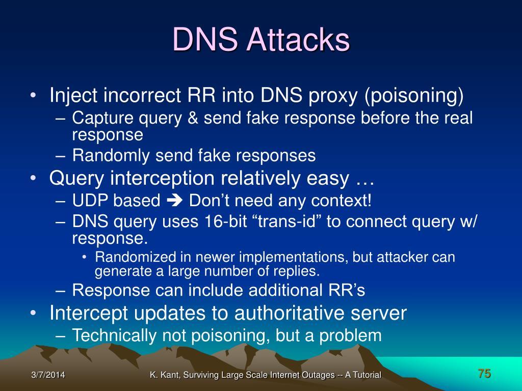 DNS Attacks