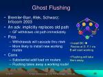 ghost flushing