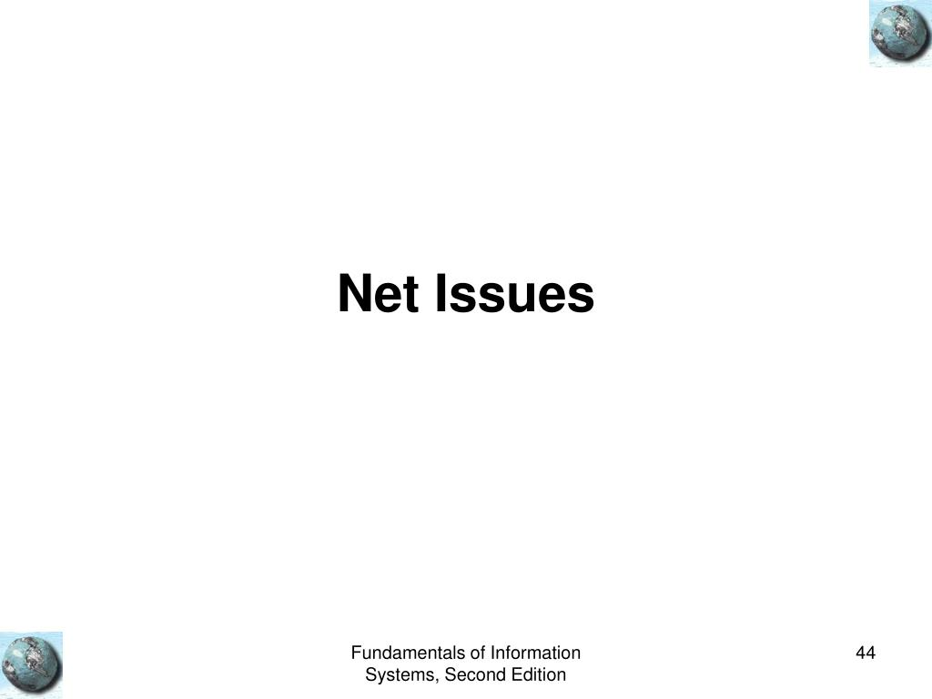 Net Issues