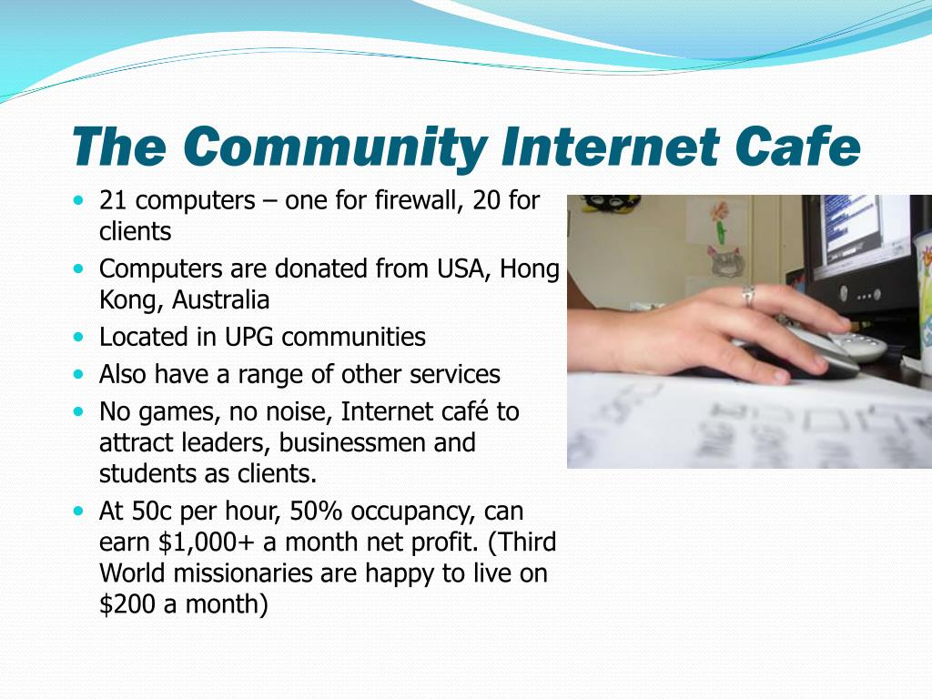 The Community Internet Cafe